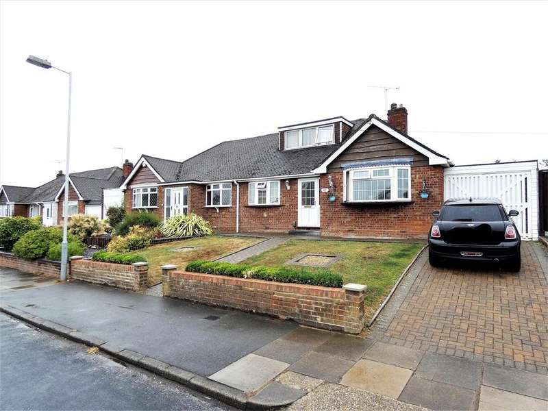 3 Bedrooms Semi Detached Bungalow for sale in Emerald Road, Luton