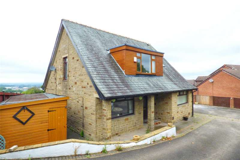 4 Bedrooms Detached House for sale in Ripponden Road, Moorside, Oldham, Greater Manchester, OL1