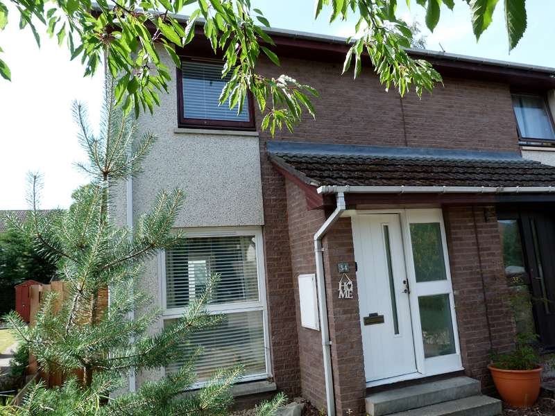 2 Bedrooms Semi Detached House for sale in Corrour Road, Aviemore, PH22 1SS