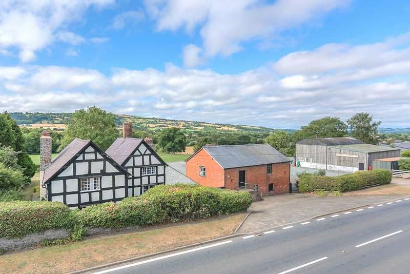 4 Bedrooms Detached House for sale in Snead, Montgomery, Powys