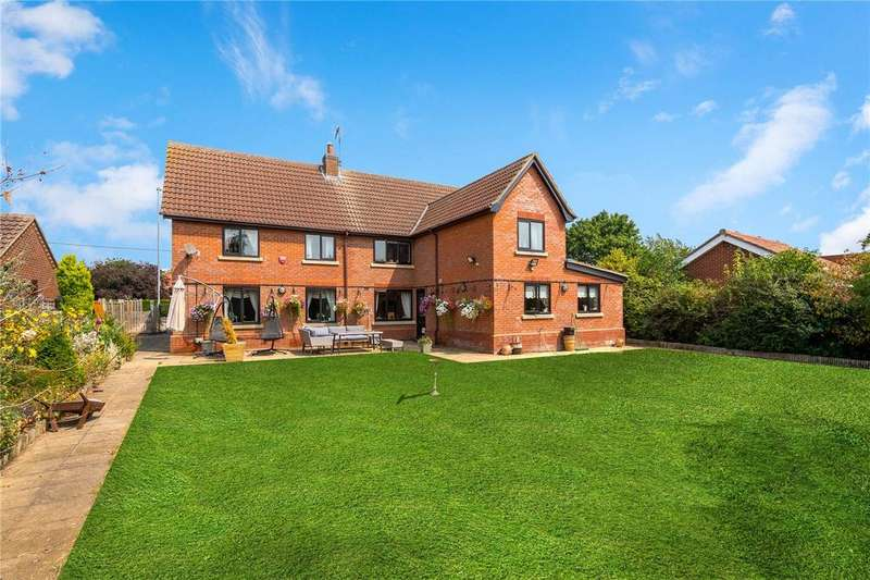 5 Bedrooms Detached House for sale in Sleaford Road, Heckington, Sleaford, Lincolnshire, NG34
