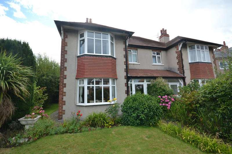 4 Bedrooms Semi Detached House for sale in Alexandra Road, Abergele, Conwy, LL22