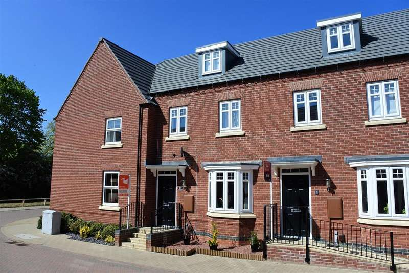 3 Bedrooms Property for sale in Tamworth Close, Grantham