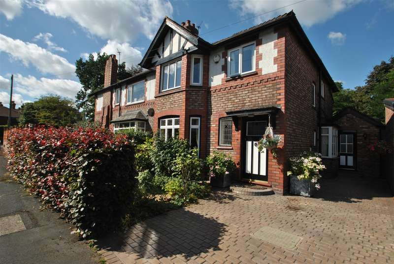 4 Bedrooms Semi Detached House for sale in Stanley Avenue, STOCKTON HEATH, Warrington, WA4