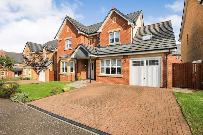 4 Bedrooms Detached House for sale in Linnet Drive, Lenzie, Glasgow, G66 3DG