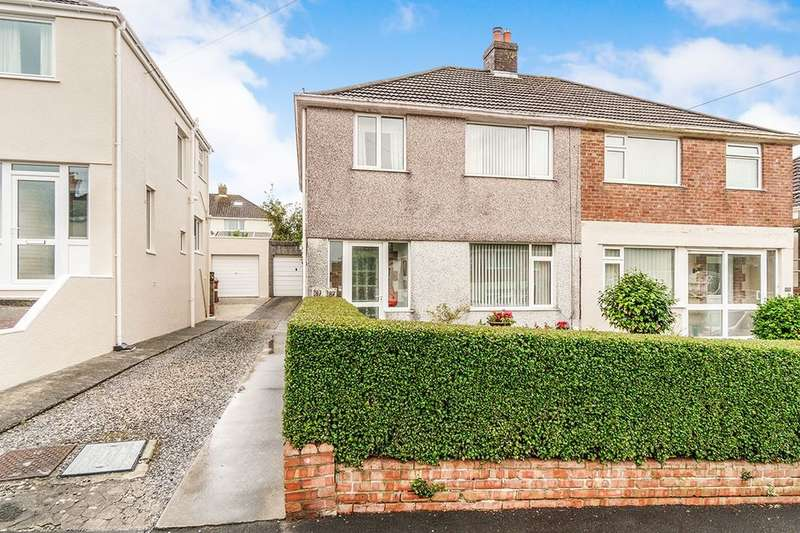 3 Bedrooms Semi Detached House for sale in St. Margarets Road, Plymouth, PL7