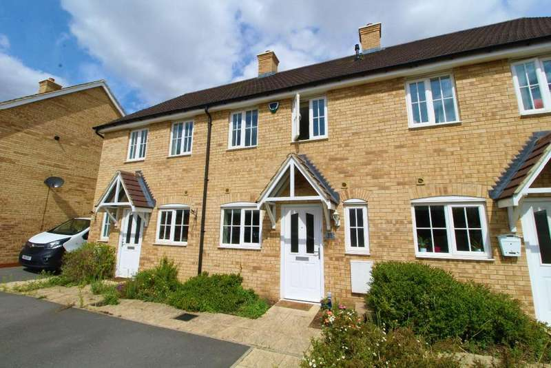 2 Bedrooms Terraced House for sale in Fiona Way, Bedford, MK41 0FD