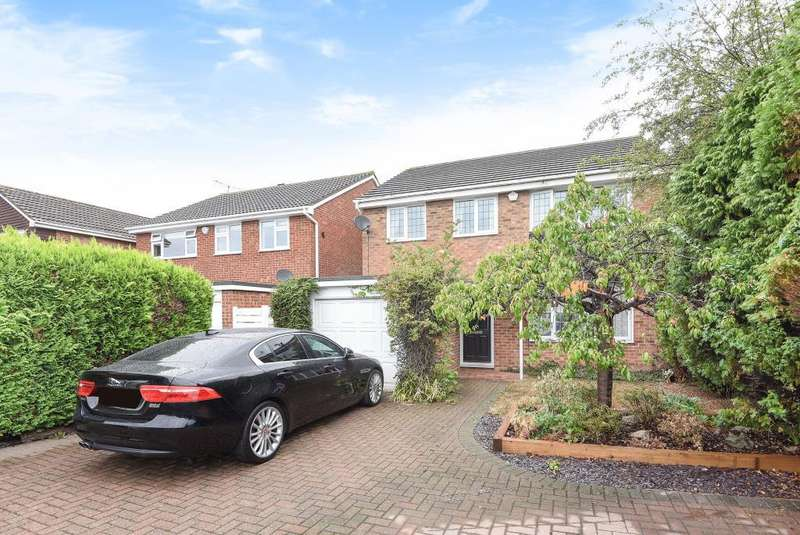 4 Bedrooms Detached House for sale in Springfield Park, Maidenhead, SL6
