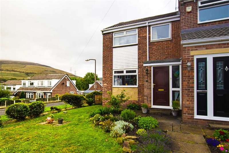 2 Bedrooms End Of Terrace House for sale in Crantock Drive, Stalybridge