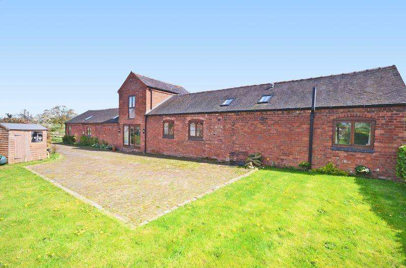 4 Bedrooms Detached House for sale in The Byre, Aspley Lane, Chatcull, Near Eccleshall ST21 6QE