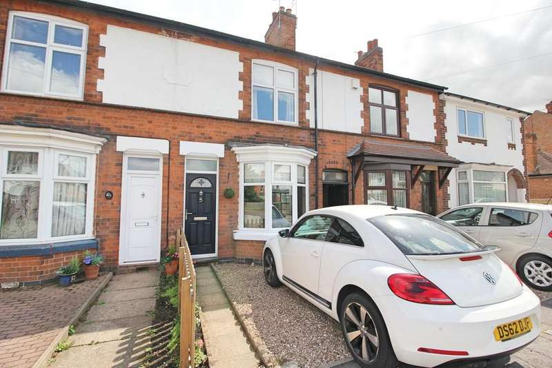 2 Bedrooms Terraced House for sale in Victoria Road, Whetstone, Leicester