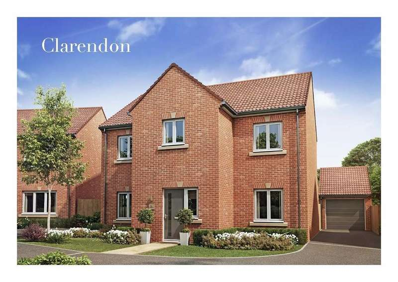 4 Bedrooms Detached House for sale in The Clarendon, Highfields, Clowne