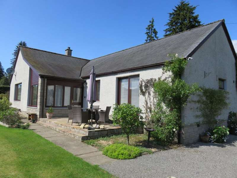 3 Bedrooms Detached Bungalow for sale in Donavourd, Pitlochry PH16
