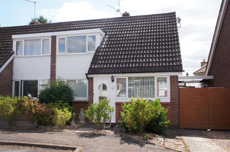 3 Bedrooms Semi Detached House for sale in Walk House Close, Cranfield, Bedford