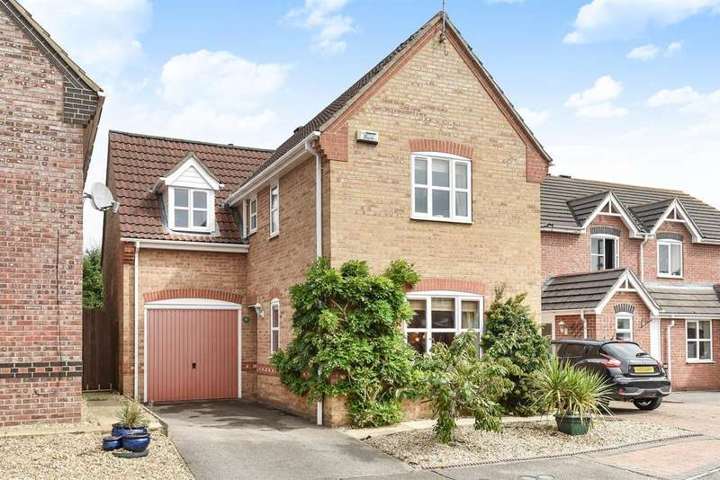 3 Bedrooms Detached House for sale in Madely Close, Horncastle, Lincs, LN9 6RQ