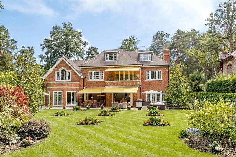 6 Bedrooms Detached House for sale in Llanvair Drive, Ascot, Berkshire