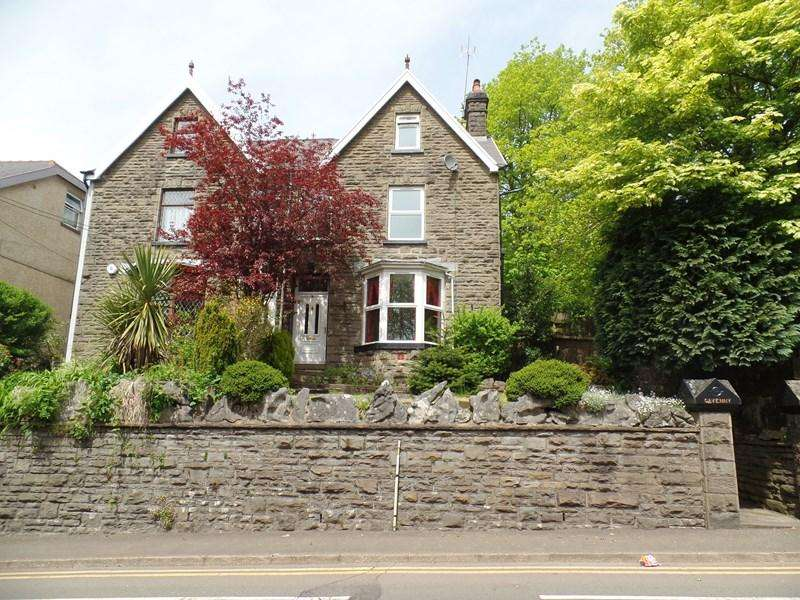 4 Bedrooms Semi Detached House for sale in Penydarren Road, Merthyr Tydfil
