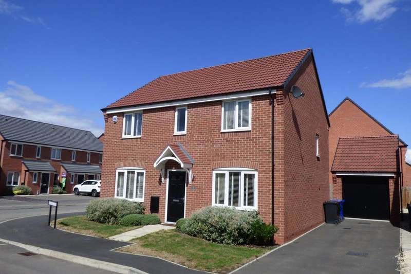 4 Bedrooms Detached House for sale in Metcalfe Close, Stretton