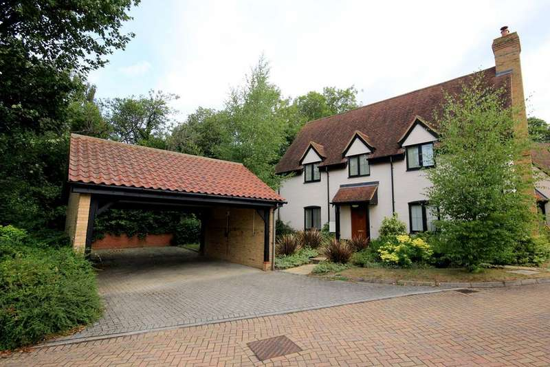 4 Bedrooms Detached House for sale in Kent Court, Harlington, LU5