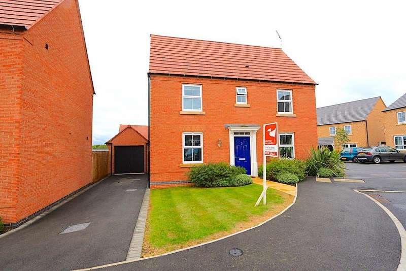 3 Bedrooms Property for sale in Knight Close, Leicester Forest East