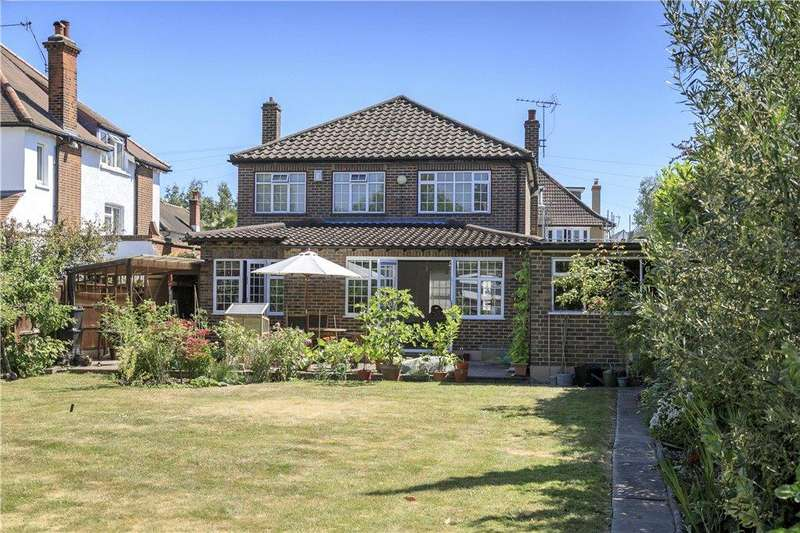4 Bedrooms Detached House for sale in Selborne Road, New Malden, KT3