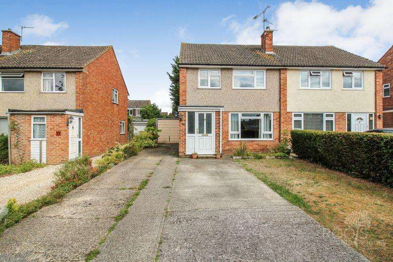 3 Bedrooms Semi Detached House for sale in Paynesdown Road, Thatcham