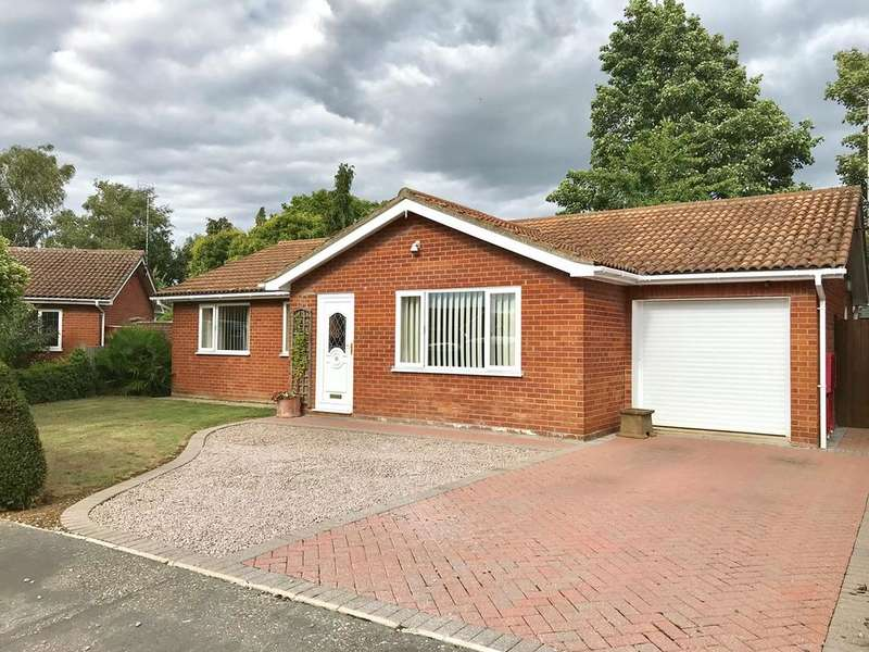 3 Bedrooms Detached Bungalow for sale in Mansell Close, Spalding, PE11