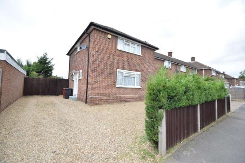 3 Bedrooms End Of Terrace House for sale in Mansel Close, Slough, SL2