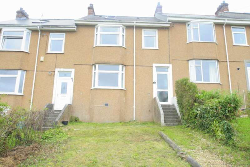 4 Bedrooms Terraced House for sale in Longview Terrace, Higher Compton, Plymouth