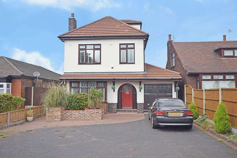 5 Bedrooms Detached House for sale in Hough Green Road, Widnes