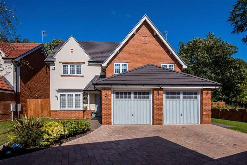 5 Bedrooms Detached House for sale in Meadow View, Rainford, St Helens, WA11