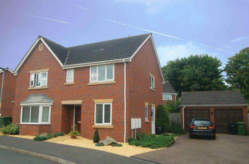 4 Bedrooms Detached House for sale in Upper Field Close, Hereford