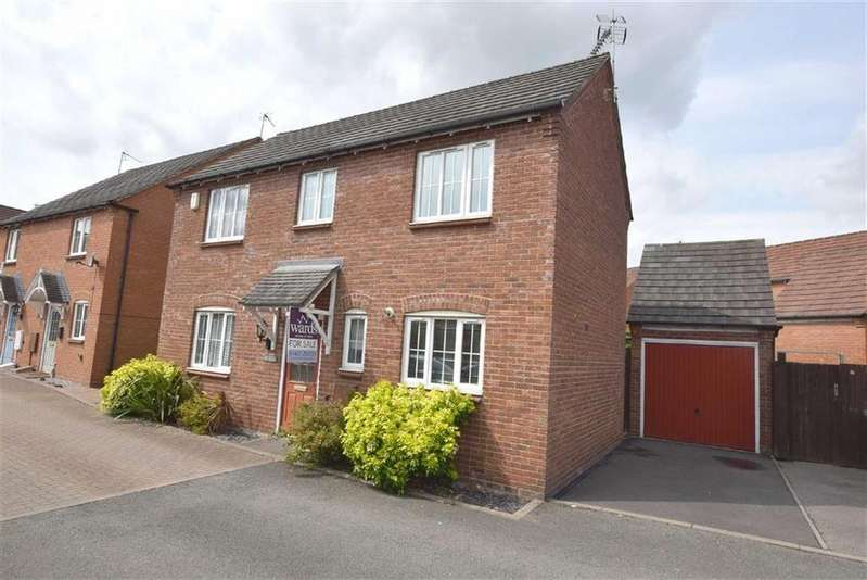 3 Bedrooms Detached House for sale in Bunneys Meadow, Hinckley, Leicestershire