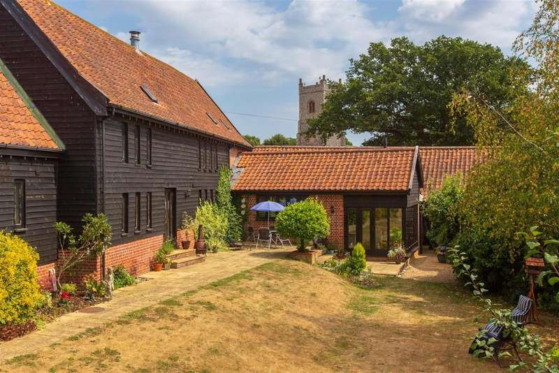 5 Bedrooms Barn Conversion Character Property for sale in Shotesham St. Mary, Norwich, NR15