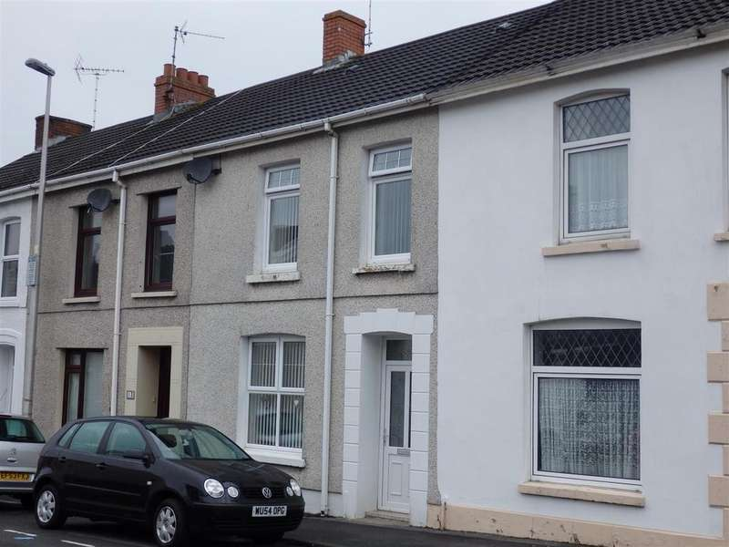 3 Bedrooms Terraced House for sale in Upper Robinson Street, Llanelli