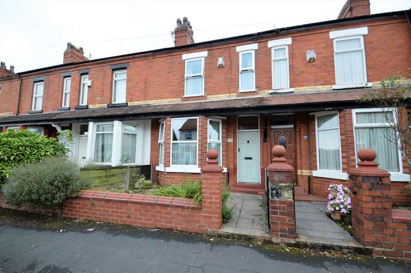 3 Bedrooms Terraced House for sale in Manor Road, Sale, M33