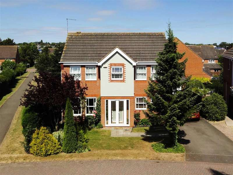 3 Bedrooms Detached House for sale in Stockwell Close, Market Harborough