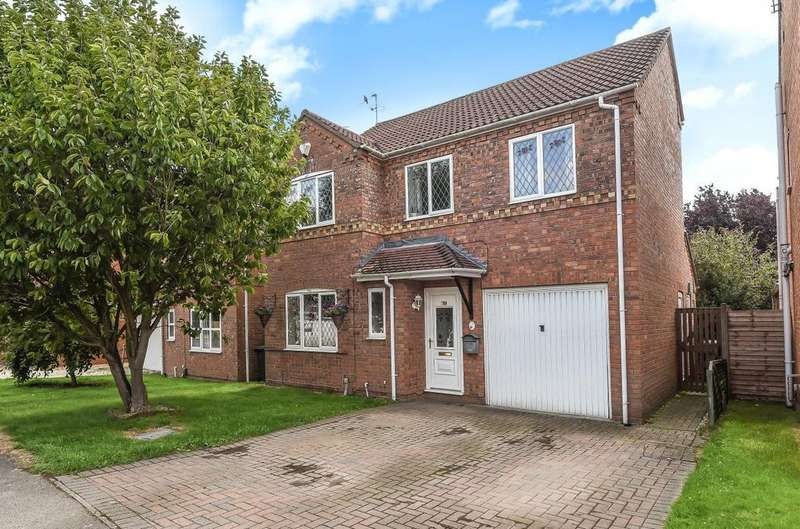 4 Bedrooms Detached House for sale in Pentland Drive, North Hykeham, LN6