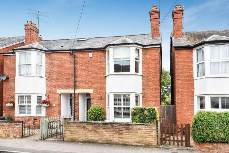 3 Bedrooms Semi Detached House for sale in Wescott Road, Wokingham, RG40
