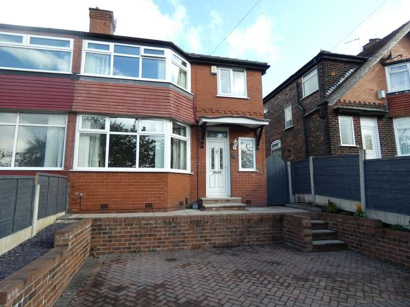 3 Bedrooms Semi Detached House for sale in Woodstock Drive, Manchester, Greater Manchester, M27