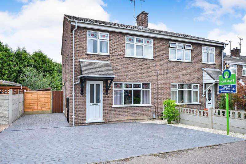 3 Bedrooms Semi Detached House for sale in Sough Road, South Normanton, Alfreton, DE55