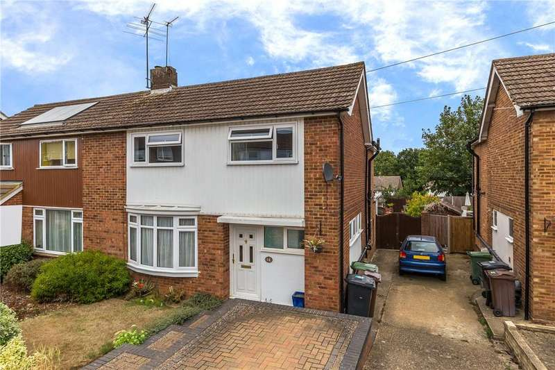 4 Bedrooms Semi Detached House for sale in Westfield Drive, Harpenden, Hertfordshire