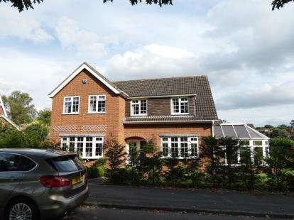 4 Bedrooms Detached House for sale in Fresco Drive, Littleover, Derby, Derbyshire