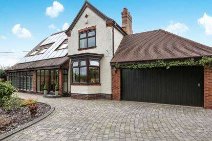 4 Bedrooms Detached House for sale in Pound Lane, Over Whitacre, Coleshill, Birmingham