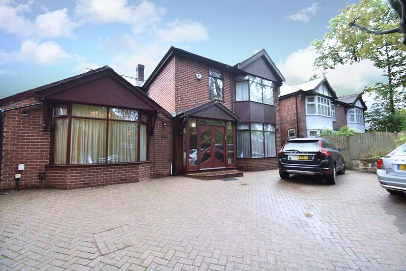 4 Bedrooms Detached House for sale in Bury Old Road, Salford, M7