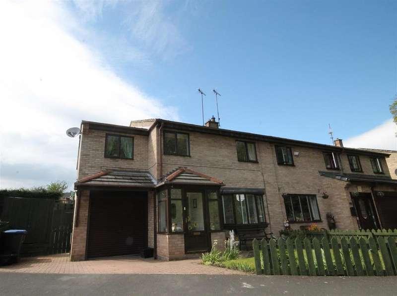 4 Bedrooms Semi Detached House for sale in Deneside, Howden Le Wear,