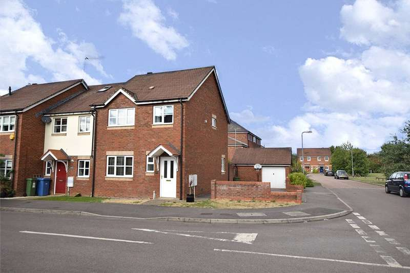 3 Bedrooms End Of Terrace House for sale in Greystock Road, Warfield, Berkshire, RG42
