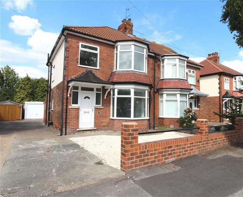 3 Bedrooms Semi Detached House for sale in Allderidge Avenue, Hull