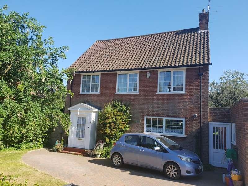 4 Bedrooms Detached House for sale in Fearnley Road, Welwyn Garden City, AL8