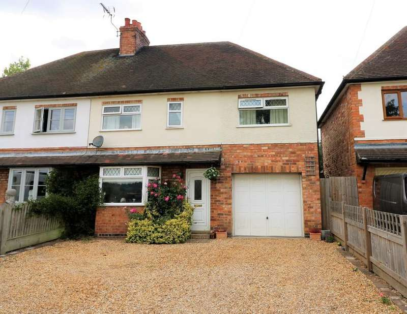 3 Bedrooms Semi Detached House for sale in Hose, Melton Mowbray